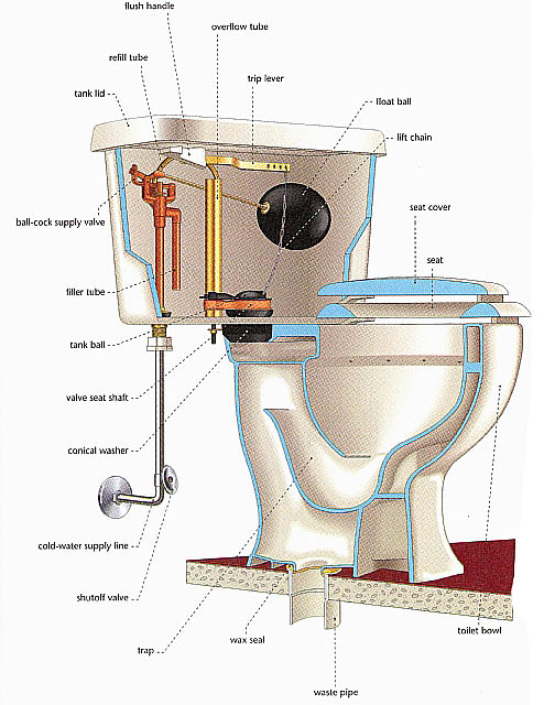 Home Construction Visual Guide 4: Bathroom and Toilet